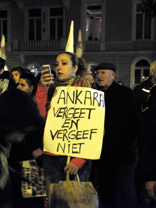 """Ankara, vergeet en vergeef niet"""