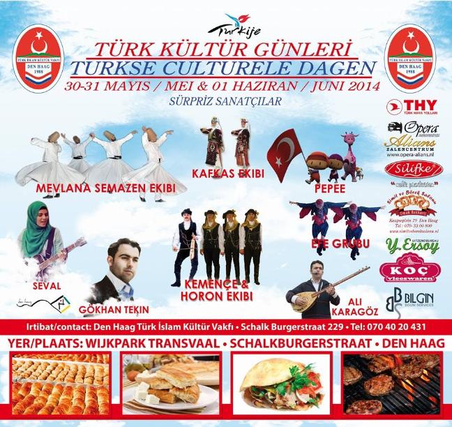 Silifke ve Koç Et Mamülleri 2014'de Den Haag Türk Kültür Günleri'nin sponsorluğunu yapmışlardı (sağdaki logolara bakın)