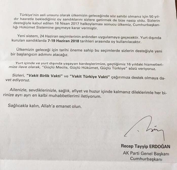De brief van Erdoğan (pagina 2)