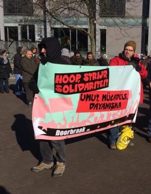 Spandoek van Doorbraak in Venlo