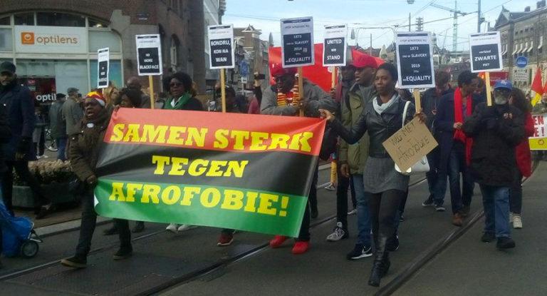 21 maart, Amsterdam: demonstratie tegen racisme