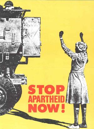 Stop apartheid now!