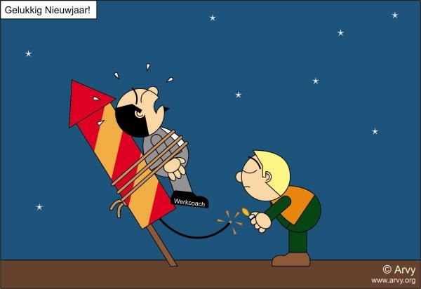 Klik op de cartoon voor de grotere versie op de website van Arvy.