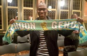 NUC-activist Mitchell Esajas is FNV-lid geworden. (foto: Arzu Aslan)