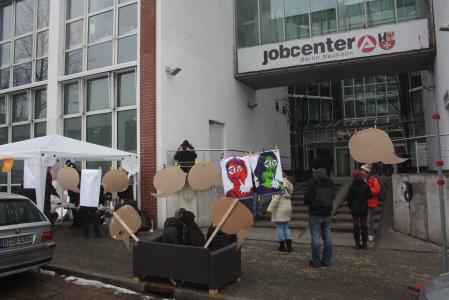 De couching-actie op 25 februari.