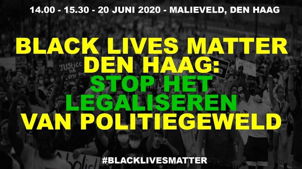 Black Lives Matter The Hague, 20 June 2020