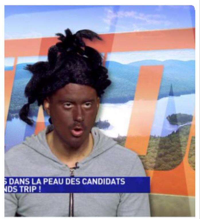 Blackface in Frankrijk.