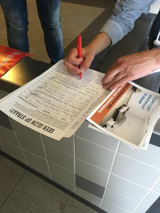 Handtekeningen ophalen.