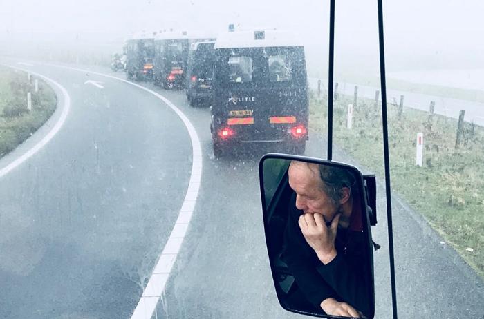 ME-bussen voorop