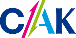 Logo van het CAK.