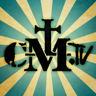 Logo van Church Militant TV.
