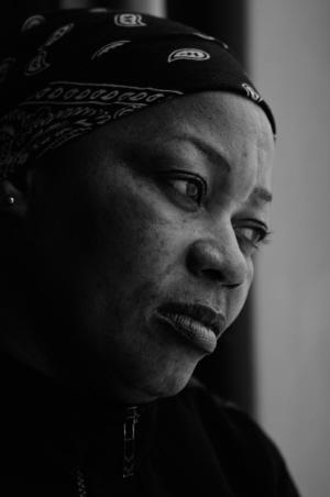 Ciza, gevlucht uit Burundi.