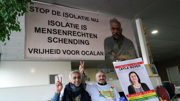 Vrijheid voor Öcalan.