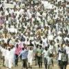 Demonstratie in Soedan
