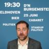 Met Dijkhoff lachen om de ellende die zijn partij andere mensen aandoet? Echt niet!