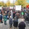 Grote opkomst bij manifestatie