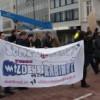 Doorbraak organiseerde op 26 februari een demonstratie tegen Wilders.