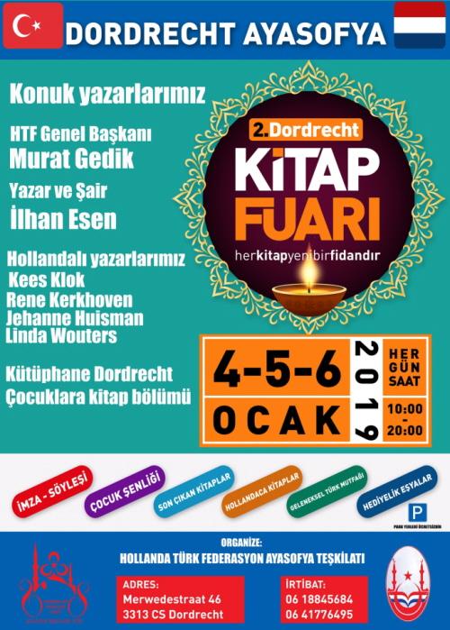 De Turkse variant van het affiche met de fascistische hoofd-acts