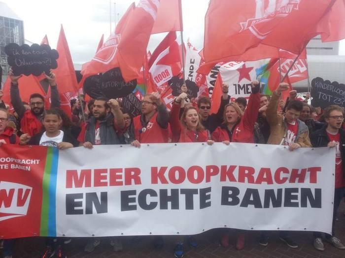FNV-manifestatie.