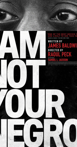 "Filmposter ""I am not your negro""."