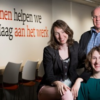 Van links naar rechts: Flextensie-uitbuiters Suzanne de Visser, Guus Budel en Martine van Ommeren.