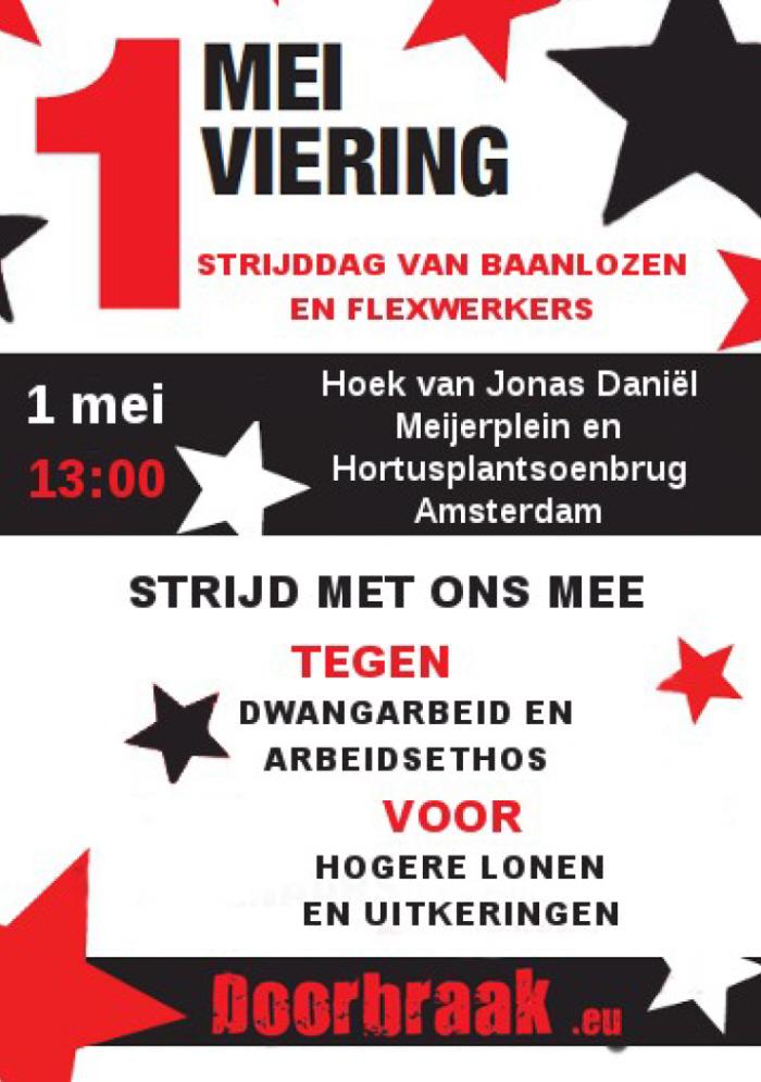 Voorkant van de flyer.