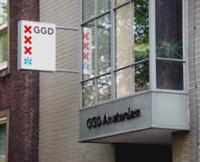 Kantoor van de GGD Amsterdam.
