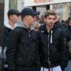 Een aantal van de neo-nazi gastjes die zaterdag rondhingen bij de manifestatie tegen Zwarte Piet in Leiden.