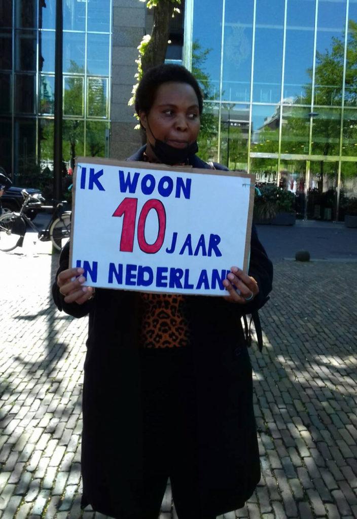 Deelnemer die tien jaar in Nederland woont.