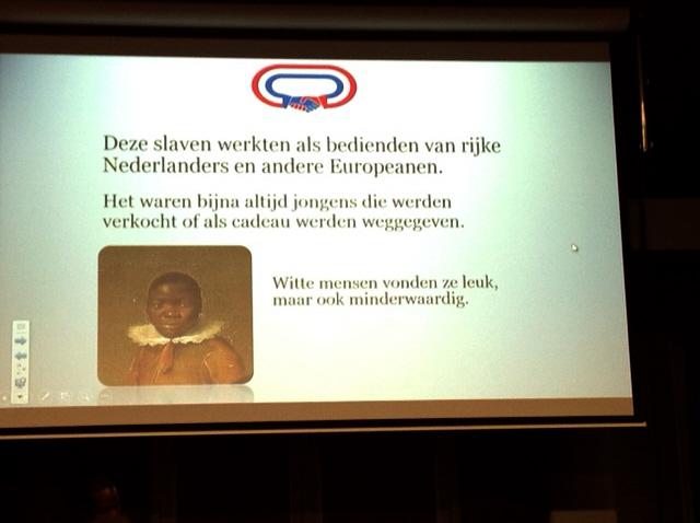 Tot slaaf gemaakte Afrikaanse kinderen in Nederland
