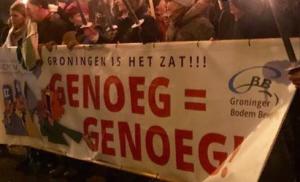 Protest in Groningen
