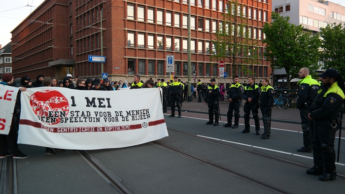 Veel politie