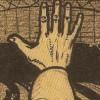 De hand aan de machtige arm.