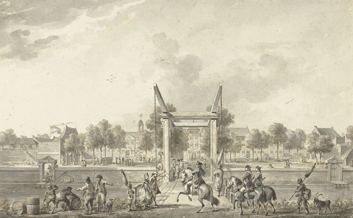 Het Gouverneurshuis in Batavia (1758).