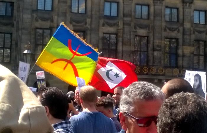 Amazigh- en Rif-vlag.