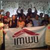 Leden van IMWU.