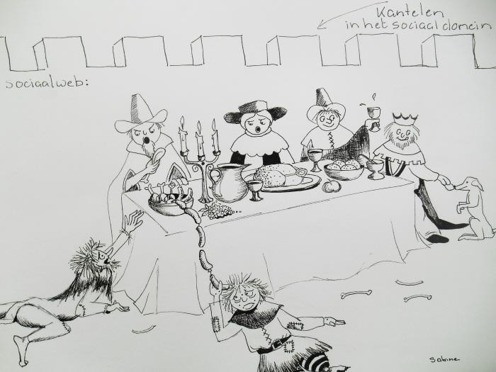 (tekening; Sabine)