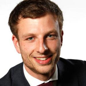 De Leidse ChristenUnie-fractievoorzitter Mart Keuning.