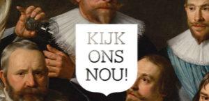 """""""Kijk ons nou!"""", luidt het blijkbaar lollig bedoelde motto dat de tentoonstelling begeleidt."""