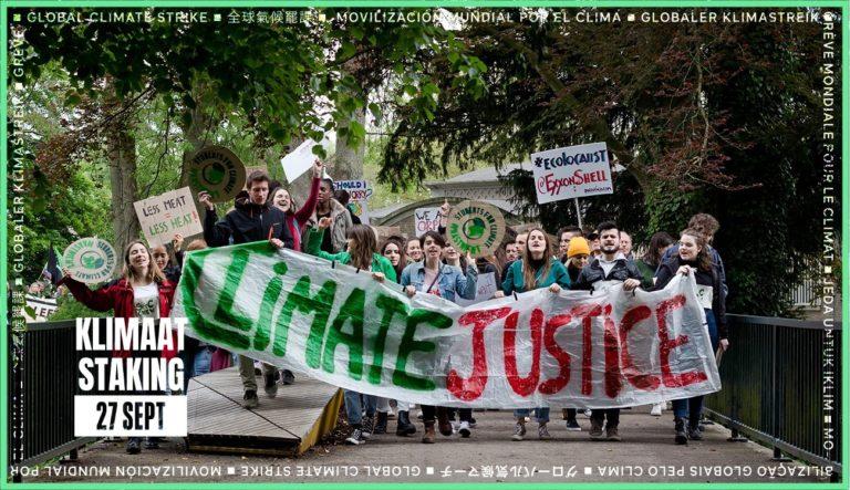 27 september, Den Haag: demonstratie tijdens de wereldwijde klimaatstaking