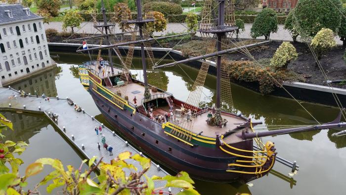 VOC-schip De Amsterdam.