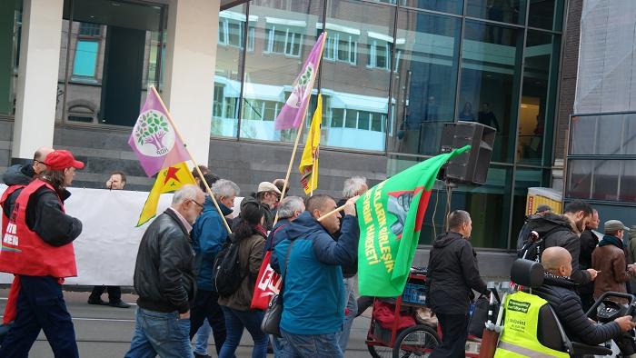 Kameraden van DemNed en HDP liepen ook in ons blok mee.