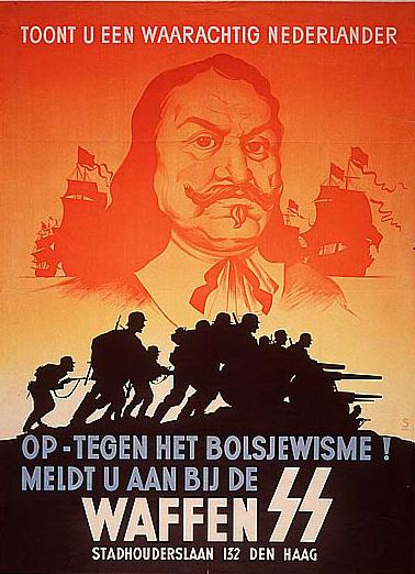 De Ruyter figureerde ook op SS-affiches.