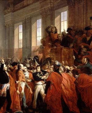 Louis Bonaparte bij zijn coup in 1851.