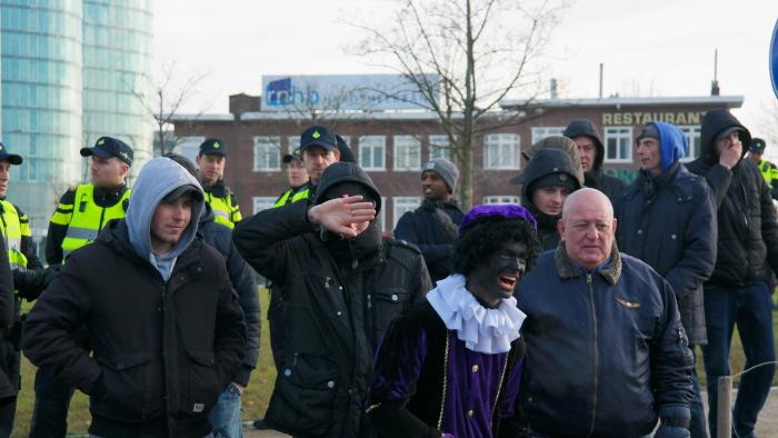 Nazi Piet was er ook weer bij.