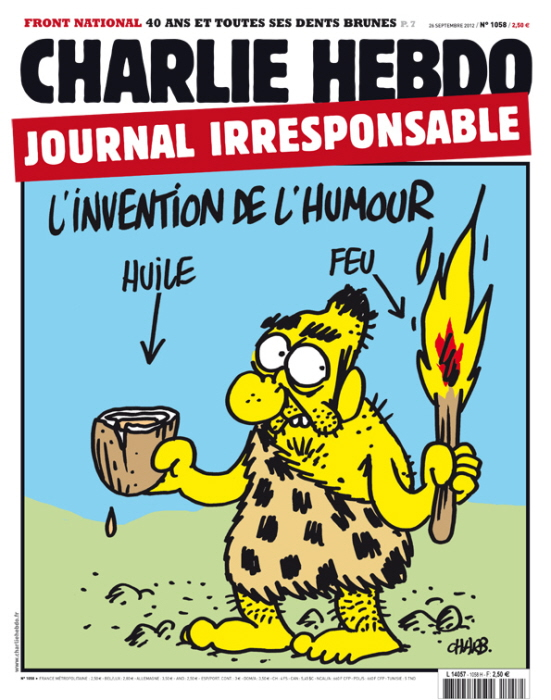 """Charlie Hebdo: """"Uitvinding van de humor."""""""