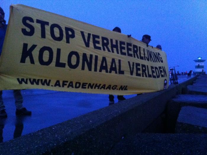 Vanochtend in Scheveningen.