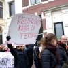 Demonstratie van Doorbraak tegen Wilders op 26 februari in Arnhem.