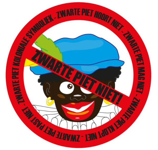 16 November Amsterdam Protest Tegen Zwarte Piet