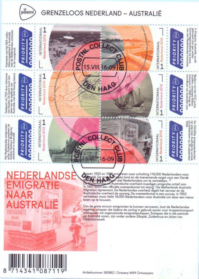 Postzegels.
